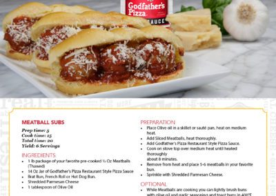 Meatball Subs Recipe